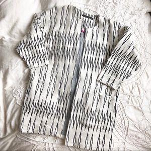 Jackets & Blazers - NWOT Zig-Zag pattern jacket